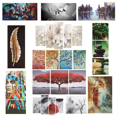 Abstract Modern Art Canvas Print Oil Painting Wall Picture Mural Home Room Decor