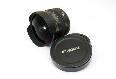 Canon EF 15mm f/2.8 Fisheye Lens for Canon EOS 5D 7D 60D 80D Rebel T7i T6i