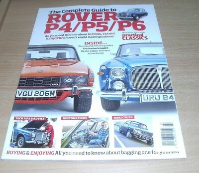 Practical Classics magazine Guide to Rover P4 P5 P6 Buying Fixing Enjoying