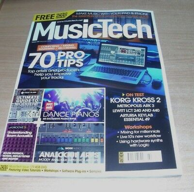 Music Tech Focus Magazine FEB 2018 Composing Mixing Mastering Recording + DVD