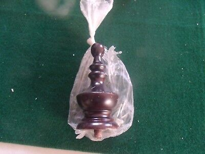 """Vintage Grandfather Clock Finial 4 1/2"""" NEW/OLD STOCK"""