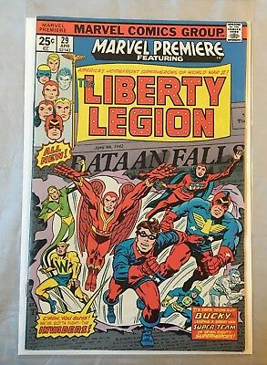 Marvel Premiere Presents  # 29, & # 30, - The Liberty Legion - Marvel Comics