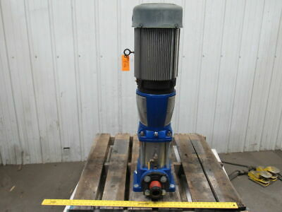 """Gould Pump 33SVBC0K2CT 15HP 2-1/2"""" Stainless Steel Vertical Centrifugal 150 GPM"""