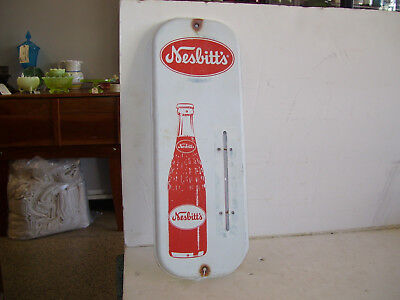 Original Nesbitt's Orange thermometer Sign