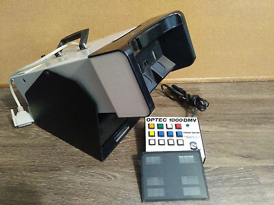 OPTEC 1000 DMV stereo optical vision tester w/ keypad and slide, working