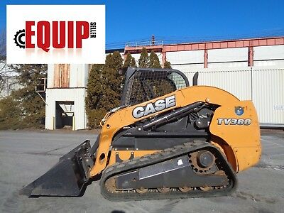 2013 Case TV380 Track Skid Steer Loader Crawler -  90HP -  Only 700 Hours