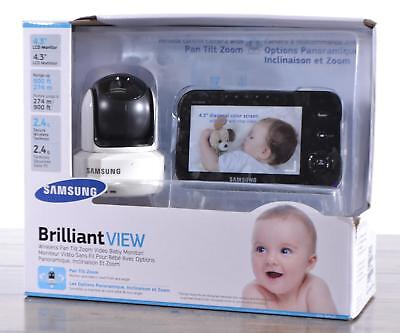 Samsung SEW-3041W Brilliant View Baby Monitoring System PTZ Camera Night Vision