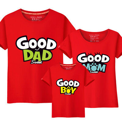 1a296bee01a1 2018 new Parent-child Leisure summer clothes Couple lovers T-Shirt Sweet  family