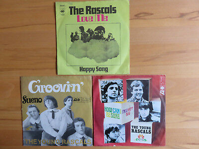 3  BEAT - SINGLES     60er  Jahre       THE  YOUNG RASCALS          D - Atlantic