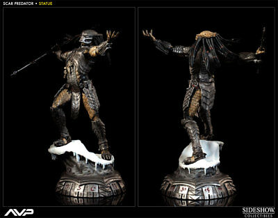 Sideshow Collectibles AVP Scar Predator 1/5 Scale Statue #141/750 NEW SEALED