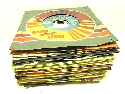 "Country & Western Music Jukebox Radio 7"" Single Vinyl Record 45 45rpm Lot:"