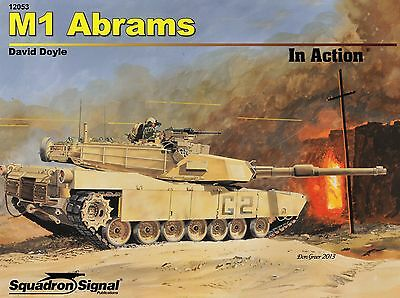 20072a/ Squadron Signal - In Action 53 - M1 Abrams - TOPP HEFT
