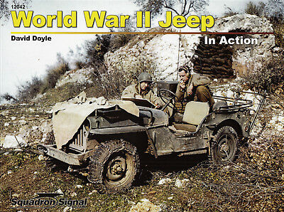 20061a/ Squadron Signal - In Action 42 - World War II Jeep - TOPP HEFT