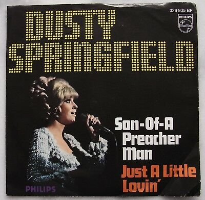 "Dusty Springfield Preacher Man Philips 326 935BF 7"" Single Musik Soul Vinyl"