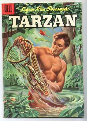 Tarzan #73 (Jesse Marsh/Russ Manning) Golden Age-Dell FN-   {Randy's Comics}