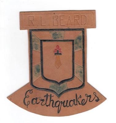Lt. Col. R. L. Beard 83rd Bomb Squadron 12th Bomb Group Patch Inv# L105