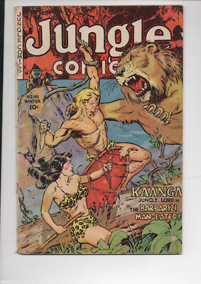 JUNGLE COMCS #161/from 1953/KAANGA story/70% OFF OVERSTREET!