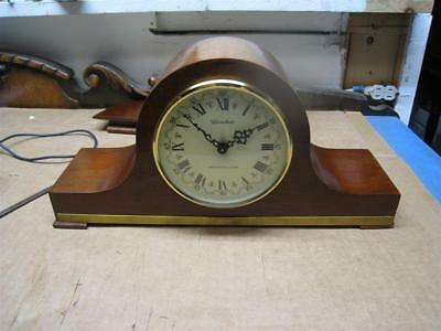 Vintage Herschede Mantle Westminster Chime Clock No. 952 / Working Condition