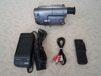 Sony CCD-TRV33 Video8 8mm Camcorder/TAPE PLAYER.  *WATCH OR CONVERT YOUR TAPES!