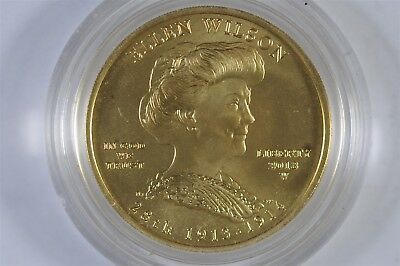 2013 W First Spouse Gold Uncirculated Coin Ellen Wilson $10 W/Box and COA