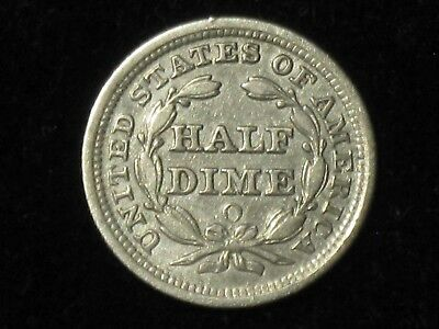 1856-O Seated Liberty Half Dime