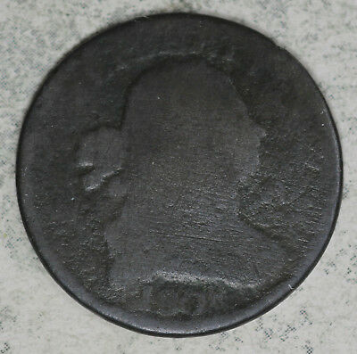 1808 Draped Bust Half Cent - Poor Condition
