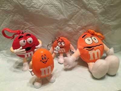 m m candy collectibles - LOT OF 4