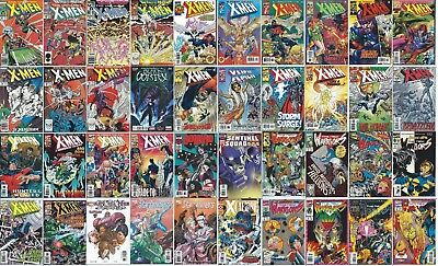 LOT of 40 UNCANNY X-MEN ( MARVEL COMIC BOOK COLLECTION) The Hidden Years BYRNE