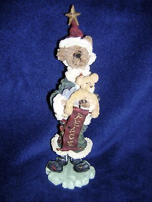 Boyds Bears Folkstone LE NOTTAWAY & HOPE..NORTHERN PEACE 1E New Never Displayed