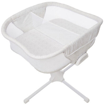 HALO Bassinest Twin Sleeper Double Bassinet Infant Baby Crib Sand Circle NEW