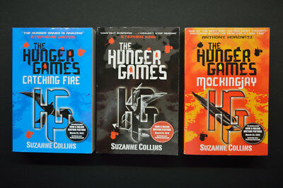 The Hunger Games Set Of 3 Books