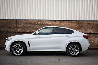 Chauffeur Driven BMW X6 Car Hire Wedding Prom Arrive in style
