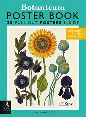 Botanicum Poster Book (Welcome To The Museum) by Professor Katherine Willis NEW