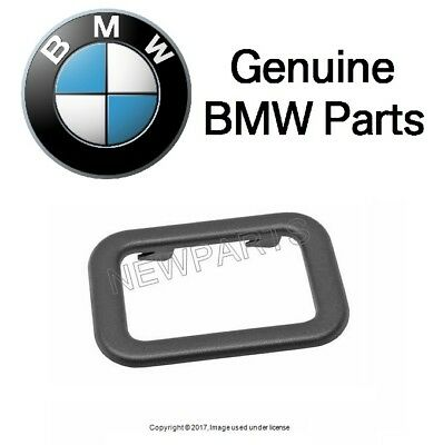 NEW BMW E30 318i 325i Convertible Black Covering Convertible Top Handle Genuine