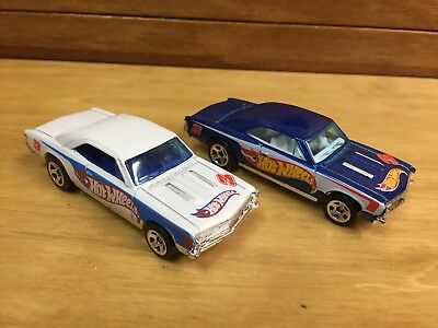 Hot Wheels Lot Of 2 '67 Chevy Chevelle SS Loose