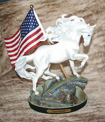 TRAIL PAINTED PONIES Unconquered 1E/2667~Strength in Adversity~American Spirit~