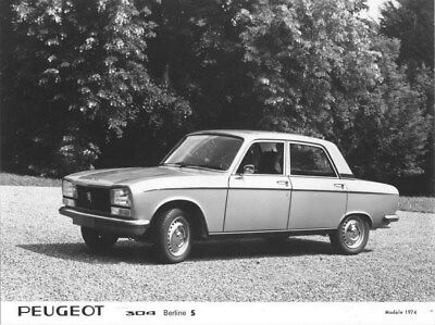 1974 Peugeot 304 Sedan S ORIGINAL Factory Photo oua1678