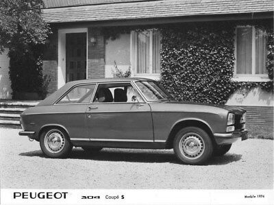 1974 Peugeot 304 Coupe S ORIGINAL Factory Photo oua1680