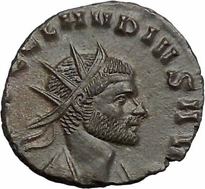CLAUDIUS II Gothicus 268AD Rare Ancient Roman Coin  Liberty, freedom i48630