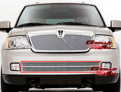 Fits 2005-2006 Lincoln Navigator Bumper Stainless Mesh Grille