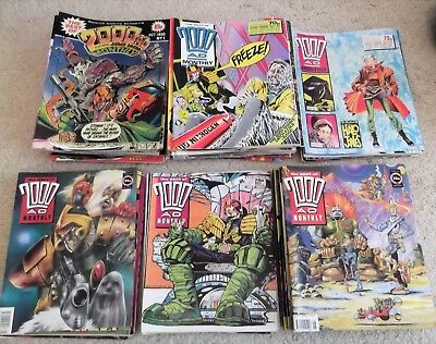 2000Ad Comics - The Best Of 2000Ad Monthly From 1 - 90