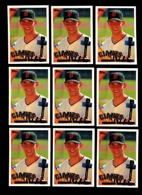 2010 Topps #105 Madison Bumgarner Rc Lot Of 18 Mint B76717