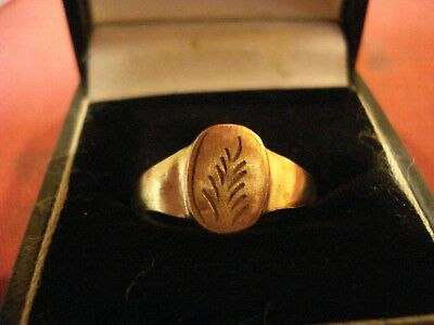 Genuine Ancient Roman Bronze Ring--Detector Find