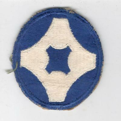 WW 2 US Army 4th Service Command Patch Inv# Y505