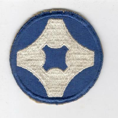 WW 2 US Army 4th Service Command Patch Inv# Y503
