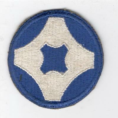 WW 2 US Army 4th Service Command Patch Inv# Y515