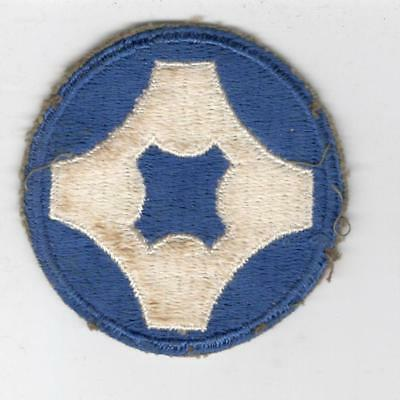 WW 2 US Army 4th Service Command Patch Inv# Y509