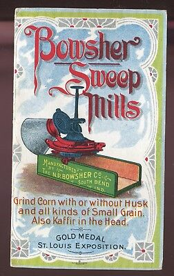 St Louis Exposition South Bend IN Bowsher Sweep Mills Vict 12 Page Catalogue!!