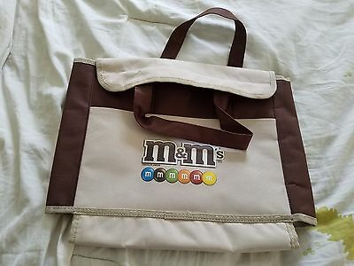 Collectible M&M Canvas Open Velcrow Carry Bag M&Ms M&M's Tote