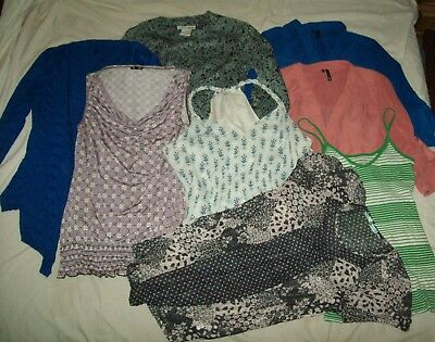 LOT 9 Shirts Woman's Blouse Small Tops Maurices Talbots Old Navy Banana Republic